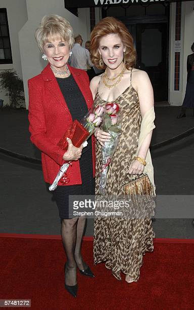 Producers Karen Kramer and daughter Katharine Kramer attend Al Pacino stars in Oscar Wilde's Salome at the Wadsworth Theatre on April 27 2006 in Los...