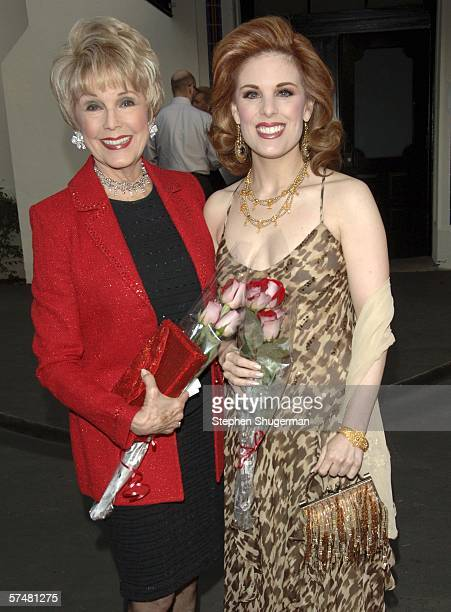 Producers Karen Kramer and daughter Katharine Kramer attend Al Pacino stars in Oscar Wilde's 'Salome' at the Wadsworth Theatre on April 27 2006 in...