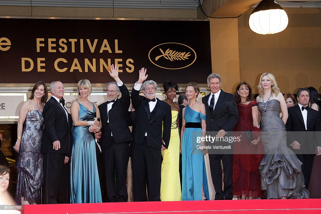 2008 Cannes Film Festival - Indiana Jones and the Kingdom of the Cryst : News Photo