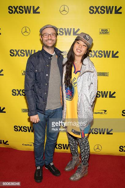 Producers Keith and Jess Calder attend the premiere of 'Blindspotting' during the 2018 SXSW Film Festival at The Paramount Theatre on March 11 2018...