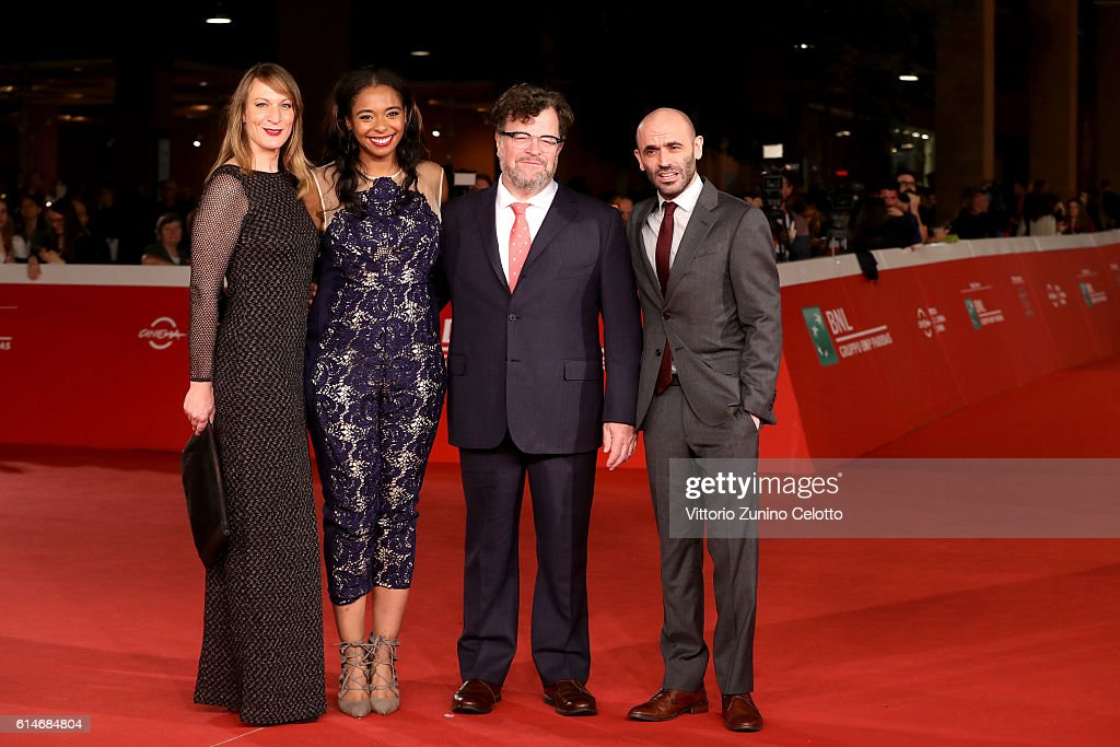 Producers Lauren Beck, Kimberly Steward, director Kenneth Lonergan and producer Josh Godfrey walk a red carpet for 'Manchester By The Sea' during the 11th Rome Film Festival at Auditorium Parco Della Musica on October 14, 2016 in Rome, Italy.