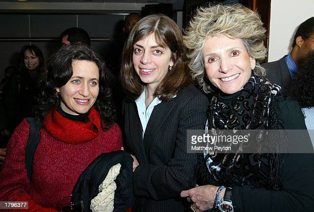 HBO producers Lisa Heller Nancy Abraham and EVP Sheila Nevins attend the New York premiere of Artisan's Amandla A Revolution In Four Part Harmony at...