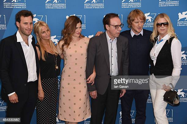 Producers Logan Levy Holly Wiersma actress Kathryn Hahn director Peter Bogdanovich wearing a JaegerLeCoultre Master Hometime Aston Martin watch actor...