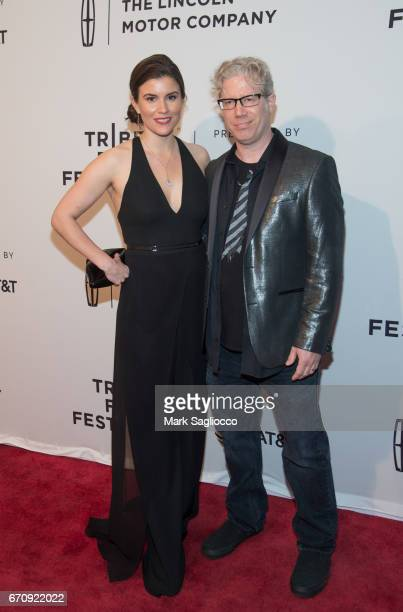 """Producers Maggie Contreras and Eddie Schmidt attend the 2017 Tribeca Film Festival screening of """"Gilbert"""" at SVA Theatre on April 20, 2017 in New..."""