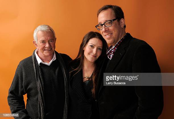 Producers Mark Damon and Tamara Stuparich de la Barra and director Rob Minkoff pose for a portrait during the 2011 Sundance Film Festival at The...
