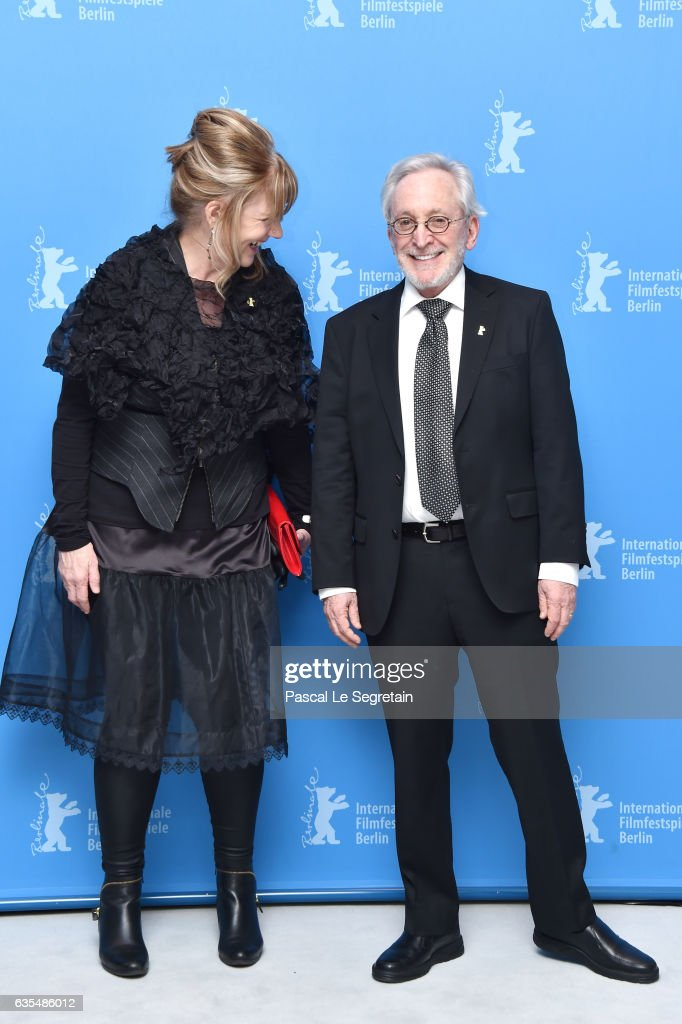 Producers Mary Young Leckie and Bob Cooper attend the 'Maudie' photo call during the 67th Berlinale International Film Festival Berlin at Grand Hyatt Hotel on February 15, 2017 in Berlin, Germany.