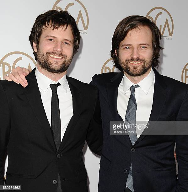 Producers Matt Duffer and Ross Duffer attend the 28th annual Producers Guild Awards at The Beverly Hilton Hotel on January 28 2017 in Beverly Hills...