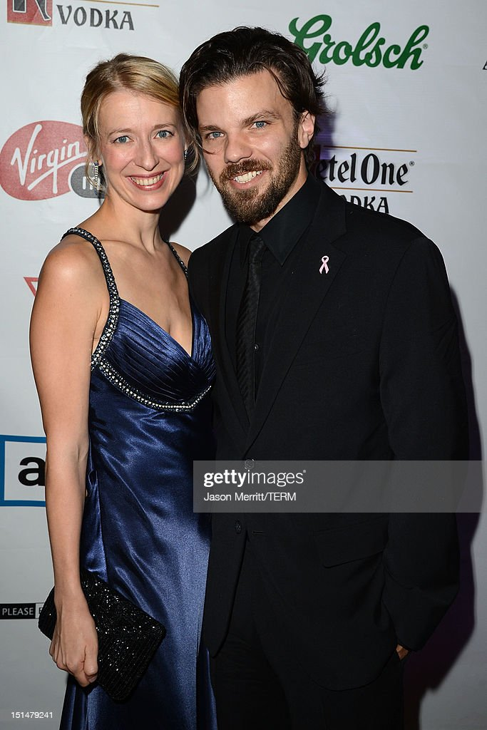 Producers Melissa and Brad Coolidge attend the 'What Maisie Knew' post premiere reception at the Virgin Mobile Arts & Cinema Centre on September 7, 2012 in Toronto, Canada.