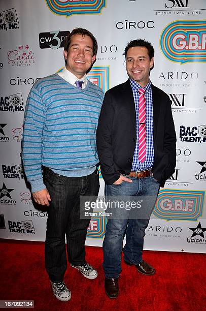 Producers Michael Anderson and Christopher Sepulveda attend the screening of GBF during the 2013 Tribeca Film Festival at Studio XXI on April 19 2013...
