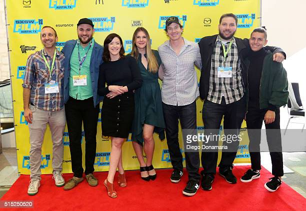 Producers Michael B Clark Jordan Horowitz writer/director Julia Hart actors Lily Rabe Rob Huebel producer Alex Turtletaub and actor Anthony Quintal...