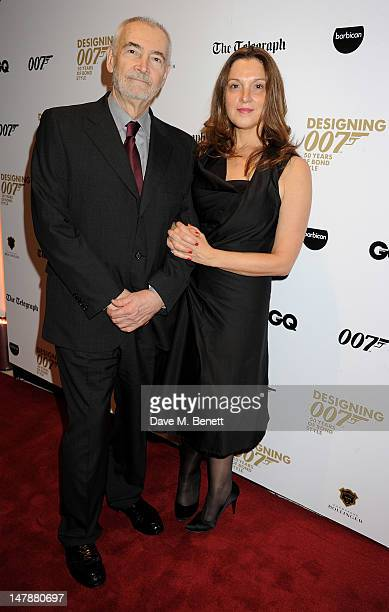 Producers Michael G Wilson and Barbara Broccoli attend the launch of 'Designing 007 Fifty Years of Bond Style' a new exhibition marking the 50th...