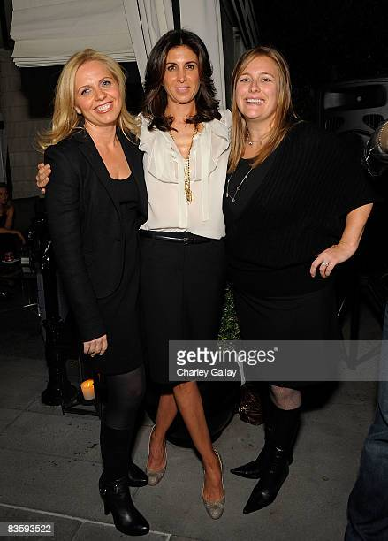 Producers Michelle Chydzik Sowa Nathalie Marciano and Jennifer Kelly attend the 26 Films AFM party for the film Inhale at the Viceroy Hotel on...