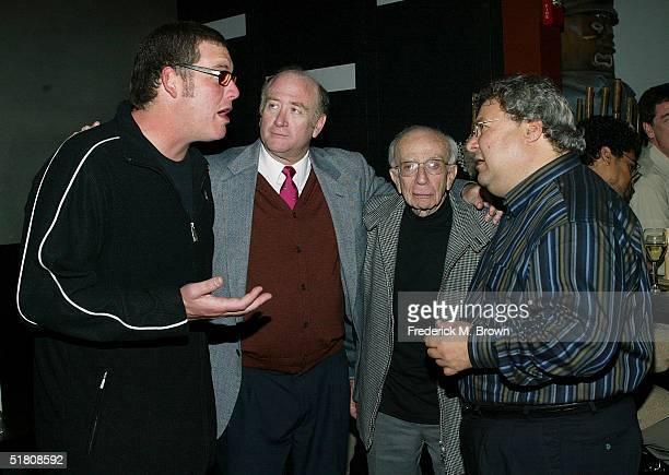 Producers Mike Fleiss Lloyd J Schwartz Sherwood Schwartz and Steve Koonin Excutive Vice President TBS/TNT attend the Los Angeles premiere after party...