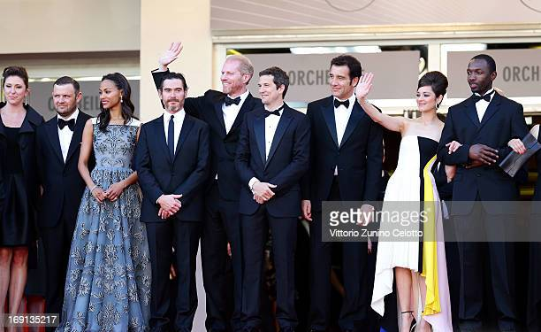 Producers Molly Conners and Christopher Woodrow actors Zoe Saldana Billy Crudup and Noah Emmerich director Guillaume Canet and actors Clive Owen...