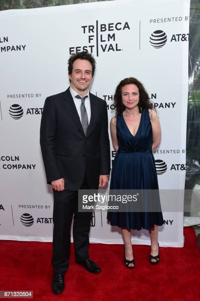 "Producers Neal Dodson and Susan Leber attend the 2017 Tribeca Film Festival - ""Aardvark"" at SVA Theatre on April 21, 2017 in New York City."