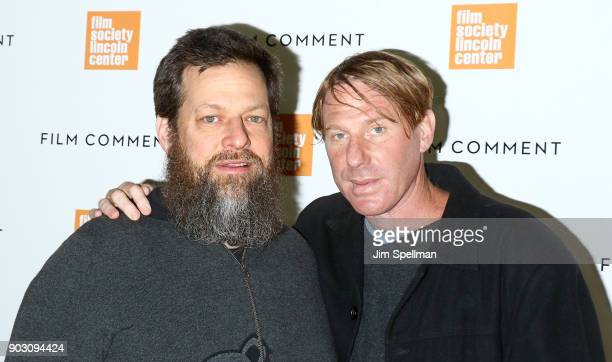 Producers Nicholas Koskoff and Eric Eisner attend the 2018 Film Society of Lincoln Center and Film Comment luncheon at Lincoln Ristorante on January...