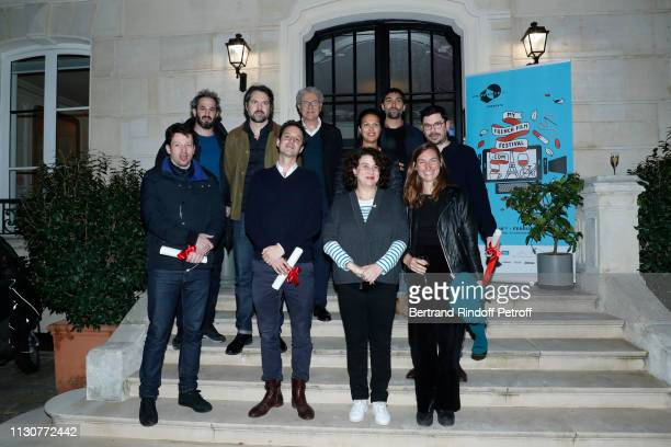 Producers of La Collection Thibault Gast and Matthias Weber President of UniFrance Films Serge Toubiana General Director of UniFrance Films Isabelle...