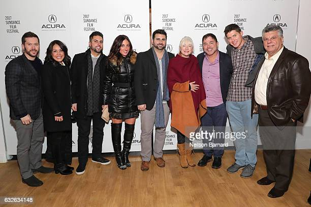 Producers of The Last Word attend The Last Word Party at the Acura Studio at Sundance Film Festival 2017 on January 24 2017 in Park City Utah