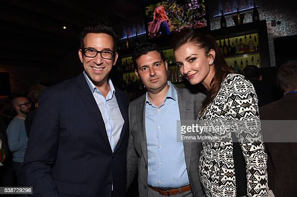 Producers Orien Richman and Adam Tenenbaum attend the after party for the premiere of 'So B It' at the Los Angeles Film Festival at Arclight Cinemas...
