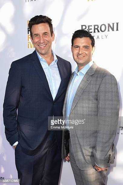 Producers Orien Richman and Adam Tenenbaum attend the premiere of 'So B It' at the Los Angeles Film Festival at Arclight Cinemas Culver City on June...