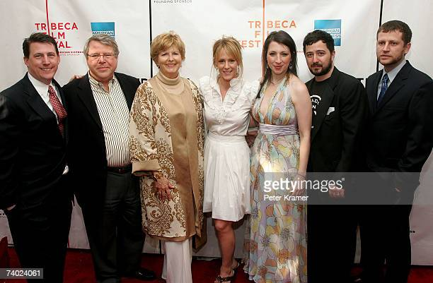 Producers Patrick Morris Bob Morris and wife Carol Morris actress Mary Stuart Masterson actress/producer Elisa Pugliese producer Jesse Scolaro and...
