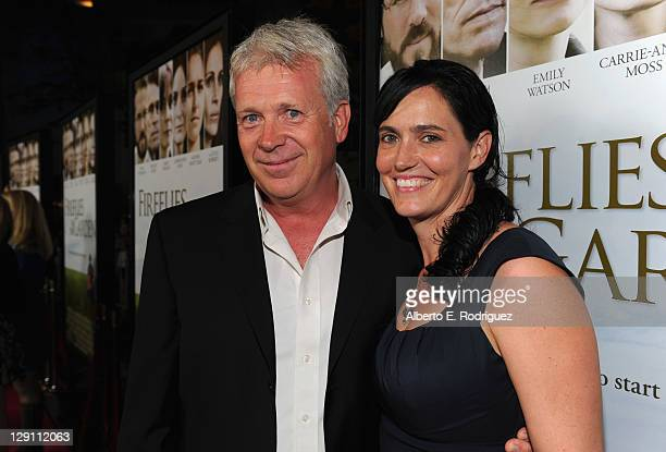 Producers Philip Rose and Vanessa Coifman arrive at the Fireflies In The Garden Premiere at Pacific Theaters at the Grove on October 12 2011 in Los...