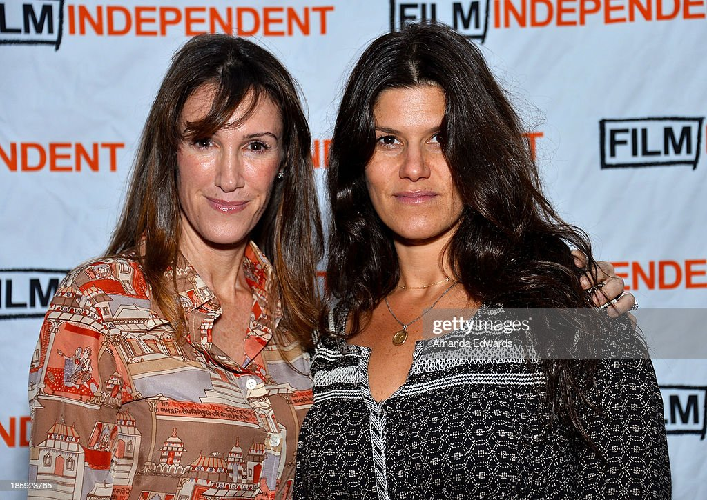 Producers Rachel Winter (L) and Robbie Brenner attend the Film Independent Forum Screening and Q&A of 'Dallas Buyers Club' at the DGA Theater on October 25, 2013 in Los Angeles, California.