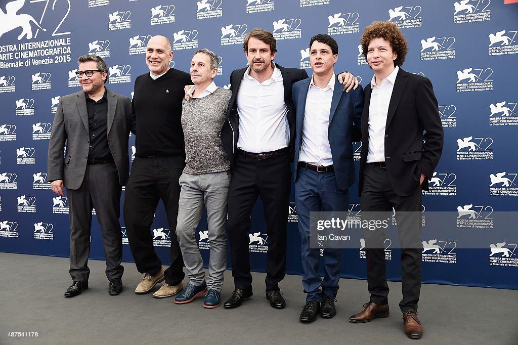 'From Afar' Photocall - 72nd Venice Film Festival