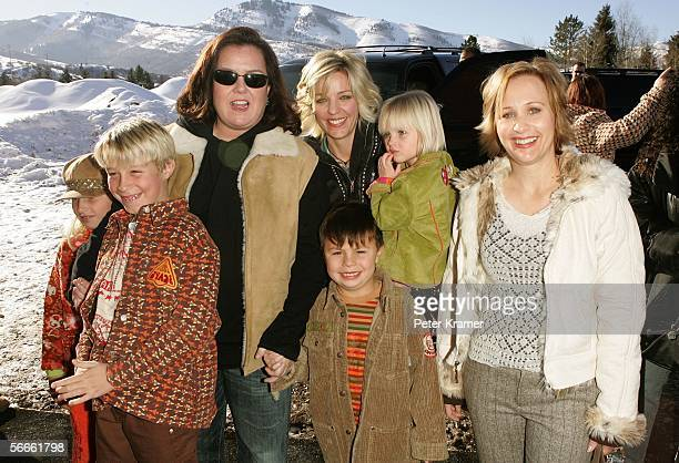 Producers Rosie O'Donnell Kelli O'Donnell and director Shari Cookson attend the premiere of All Aboard Rosie's Family Cruise at the Eccles Theater...