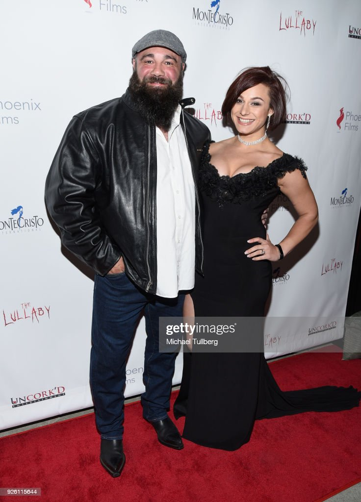 Producers Samuel Frauenstein and Sarina Frauenstein attend the premiere of Uncork'd Entertainment's 'The Lullaby' at Laemmle's Ahrya Fine Arts Theatre on March 1, 2018 in Beverly Hills, California.