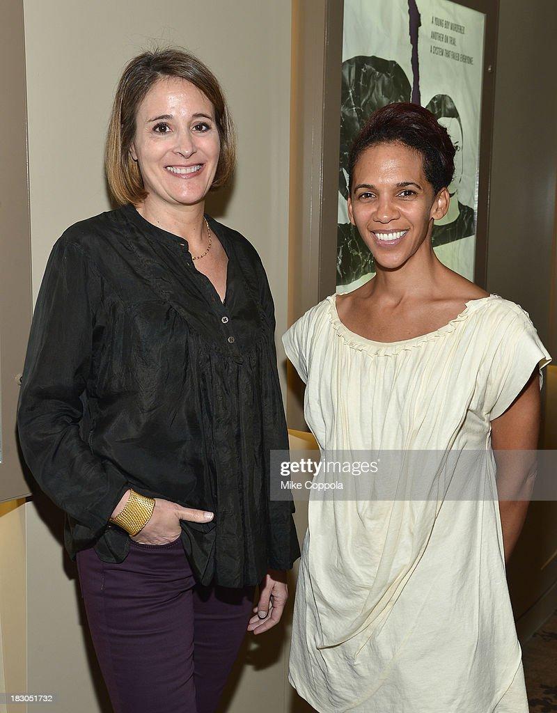 Producers Sasha Alpert (L) And Marta Cunningham Attend HBOu0027s New York  Screening Of U0027