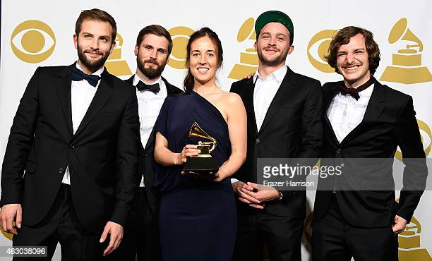 Producers Solal Micenmacher Jett Steiger and Kathleen Heffernan and directors Clement Durou and Pierre Dupaquier winners of Best Music Video for...