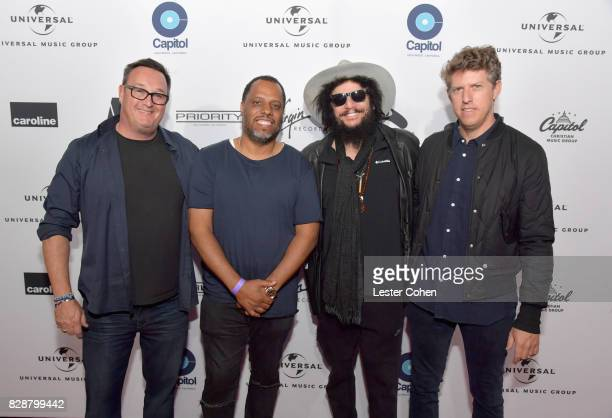 Producers Spike Stent Dion 'No ID' Wilson Blue Note Records President Don Was and producer Greg Kurstin attend Capitol Music Group's Premiere Of New...