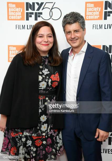 Producers Stefanie Azpiazu and Anthony Bregman attend Private Life premiere during the 56th New York Film Festival at Alice Tully Hall Lincoln Center...