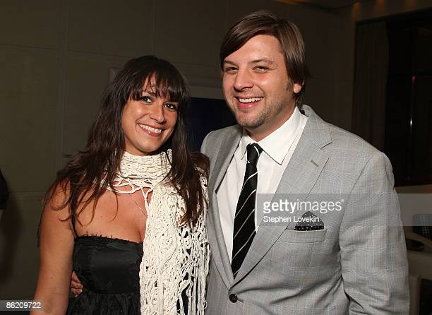 **EXCLUSIVE** Producers Tatiana Kelly and Jim Young attends the after party for Don McKay during the 2009 Tribeca Film Festival at Thom Bar on April...