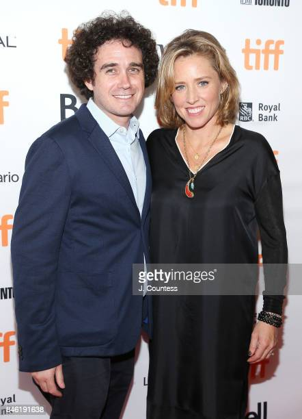 Producers Terry Leonard and Amy Redford attend the premiere of 'Professor Marston The Wonder Women' during the 2017 Toronto International Film...