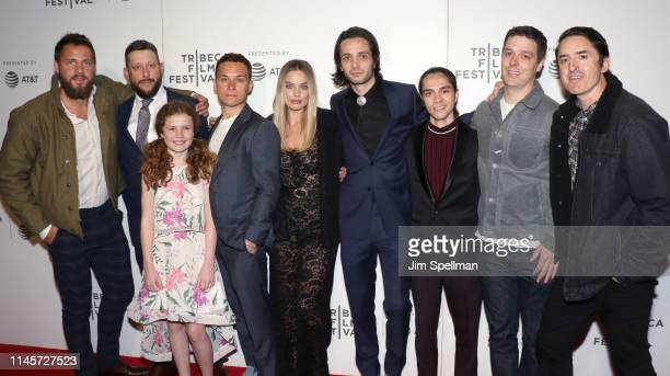 Producers Tom Ackerley and Brad Feinstein actors Darby Camp Finn Cole and Margot Robbie director Miles JorisPeyrafitte and Brian Kavanaugh Jones...