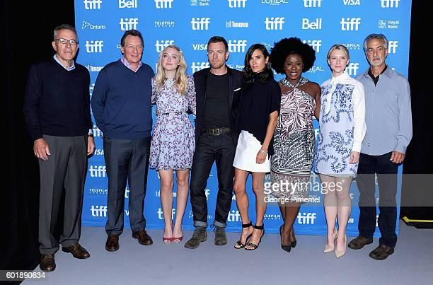 Producers Tom Rosenberg Gary Lucchesi actress Dakota Fanning actor/director Ewan McGregor actors Jennifer Connelly Uzo Aduba Valorie Curry and David...