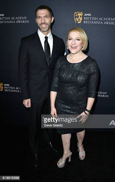 Producers Travis Knight and Arianne Sutner attend the 2016 AMD British Academy Britannia Awards presented by Jaguar Land Rover and American Airlines...