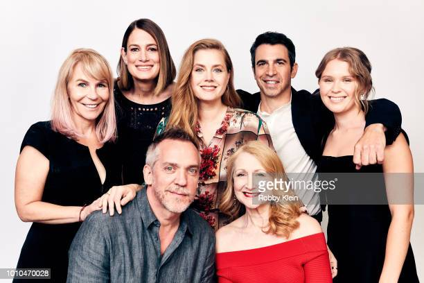 Producer/showrunner Marti Noxon writer/producer Gillian Flynn actor/producer Amy Adams actors Chris Messina Eliza Scanlen producer JeanMarc Vallee...