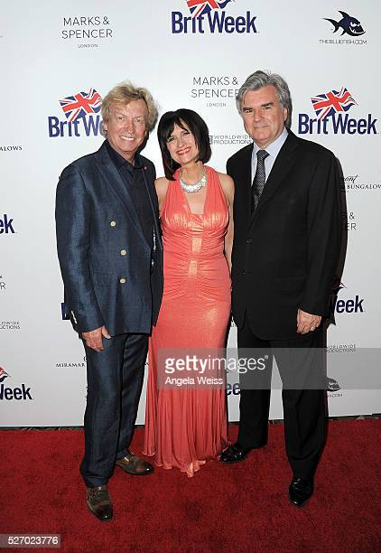 Producer/tv personality Nigel Lythgoe Britweek Founders Sharon Peirce and Bob Peirce attend BritWeek's 10th Anniversary VIP Reception Gala at...