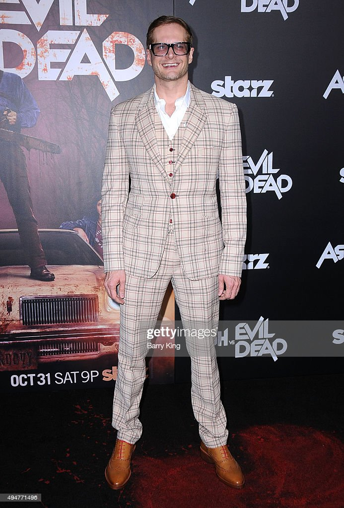 Producer/writer Bryan Fuller arrives at the Premiere of STARZ's 'Ash vs Evil Dead' at TCL Chinese Theatre on October 28, 2015 in Hollywood, California.