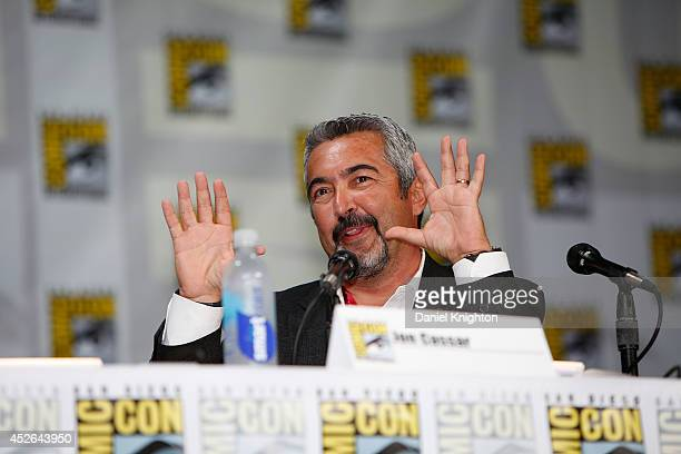 """Producer/writer Jon Cassar attends the """"24: Live Another Day"""" panel during Comic-Con International at San Diego Convention Center on July 24, 2014 in..."""