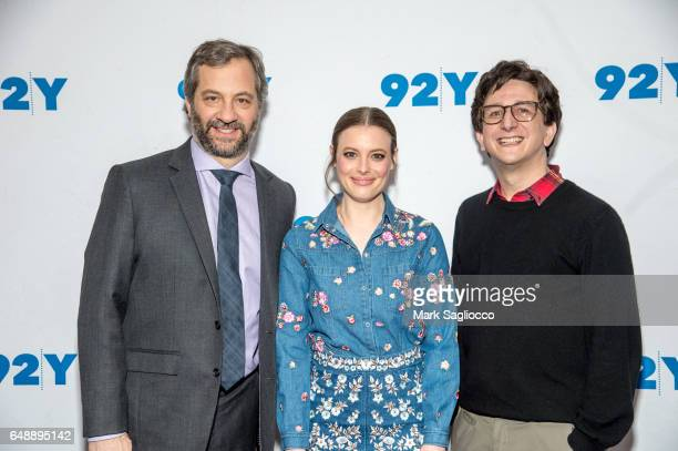 """Producer/Writer Judd Apatow, Gillian Jacobs and Paul Rust attend a Special Preview Screening Of Netflix's """"Love"""" at 92nd Street Y on March 6, 2017 in..."""