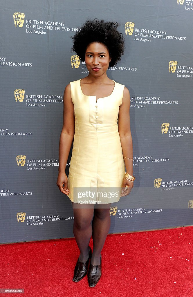Producer/writer Kara K.J. Miller arrives at the 26th Annual BAFTA LA Garden Party at the British Consul-General's official residence on June 2, 2013 in Los Angeles, California.