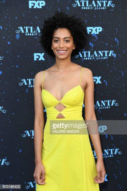 Producer/writer Stefani Robinson attends For Your Consideration Red Carpet Event For FX's Atlanta Robbin' Season at the Television Academy on June 8...
