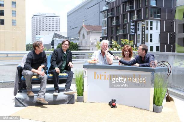 Producer/writer/actor James Berg producer/writer/director Stan Zimmerman actor Barry Bostwick actor Mindy Sterling and actor/host Brian Rodda at the...