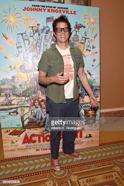 "Producer/writer/actor Johnny Knoxville attends Paramount Pictures and DTS Inc/Xperi Invite You to Celebrate Johnny Knoxville's ""Action Point"" at..."