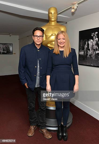 Producer/writer/director Cary Joji Fukunaga and producer Daniela Taplin Lundberg attend The Academy of Motion Picture Arts and Sciences' screening of...