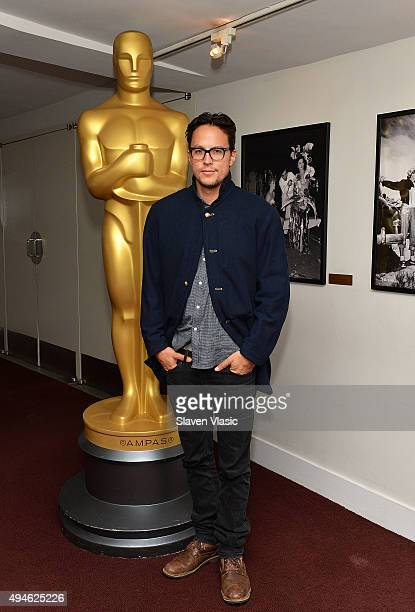 Producer/writer/director Cary Joji Fukunaga attends The Academy of Motion Picture Arts and Sciences' screening of Beasts of No Nation at DGA Theater...